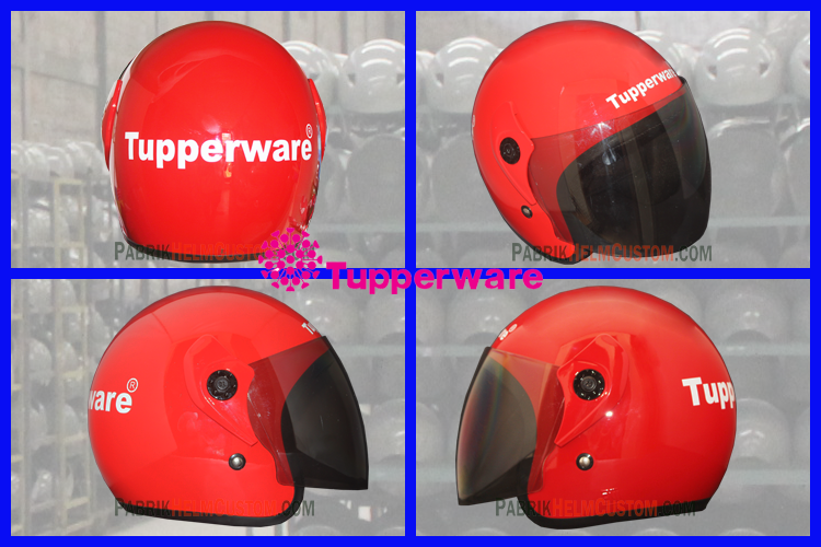 Helm Promosi Tupperware