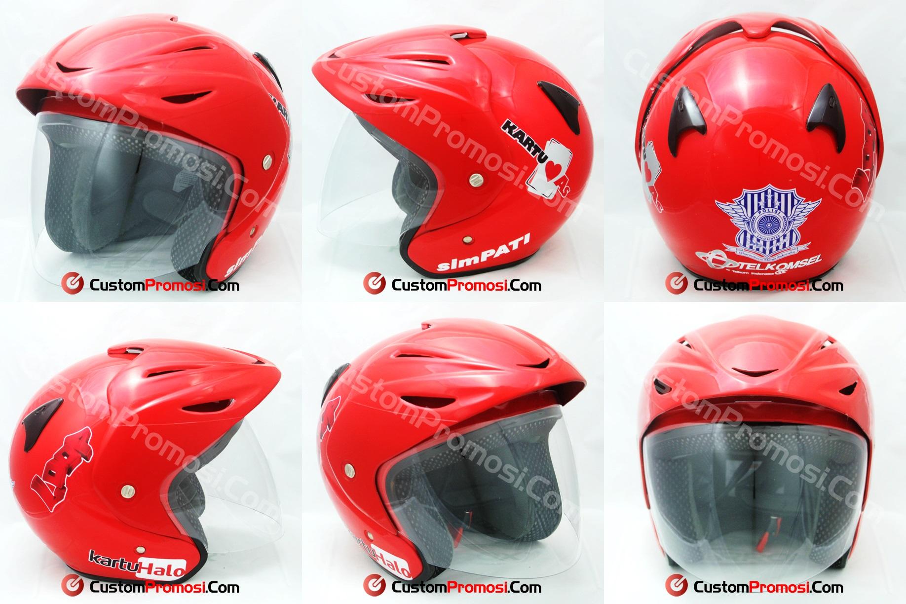 Helm Telkomsel Ambon