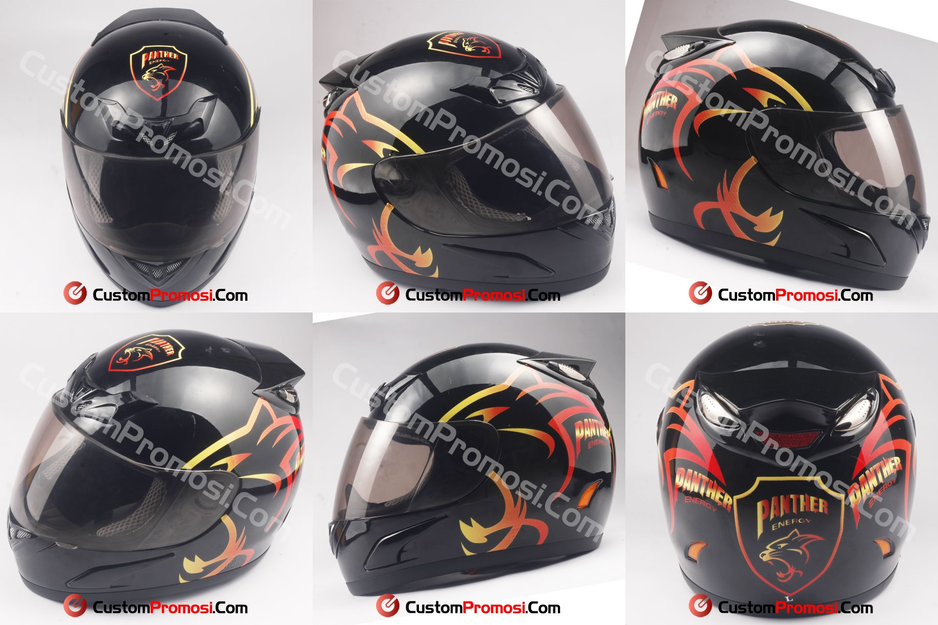 Helm Promosi Panther Energy