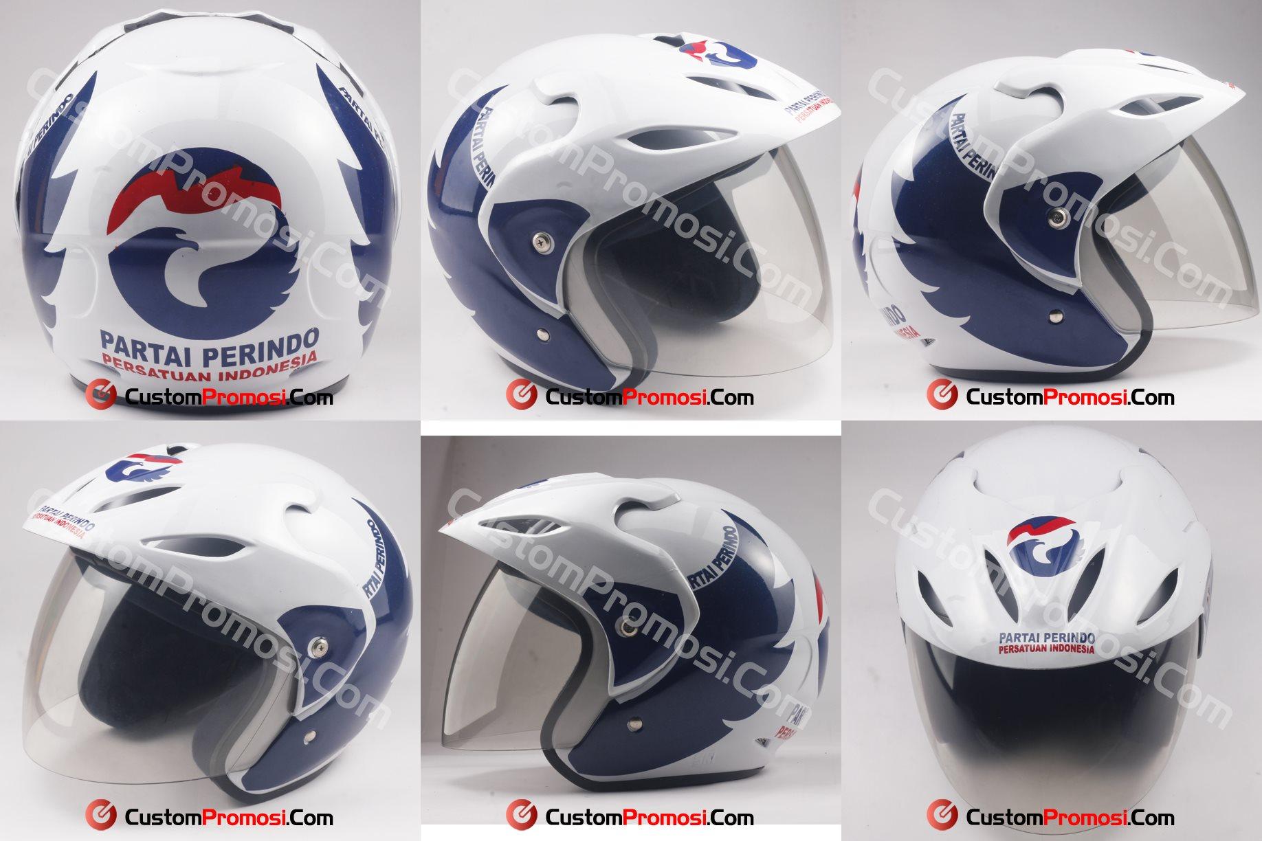 Helm Untuk kampanye partai perindo